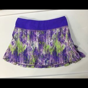 Set the Pace Skirt, Ivivva by lululemon Size 10